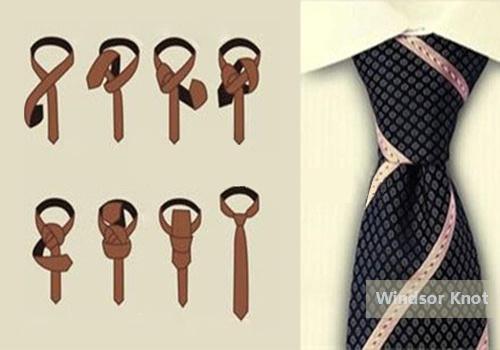 领带温莎结打法