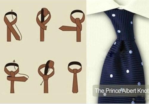 领带浪漫结打法